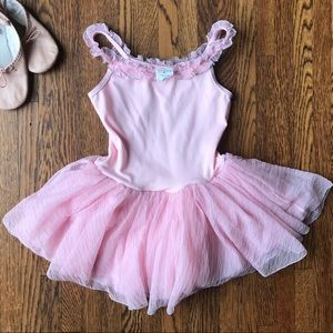 Princess Aurora Pink Ballet Leotard Tutu Dance